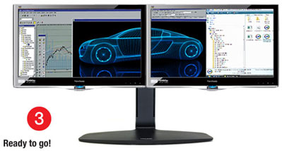 How To Run Dual Monitors Hp Compaq 6000 Pro Sff Pc It By